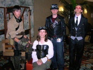 Traci Loudin at ConTemporal Steampunk Con