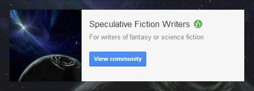 Speculative Fiction Writers Community: science fiction and fantasy