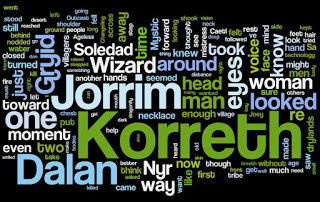First Draft of The Ageless in Wordle
