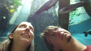 Traci and Dorian at the Academy of Science