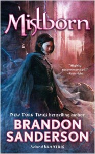 Mistborn by Brandon Sanderson, a Post-Apocalyptic Fantasy