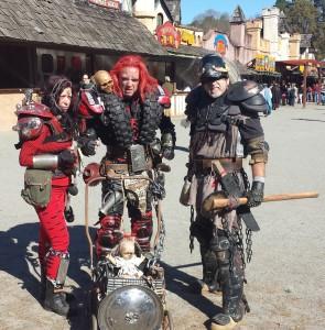 Mad Max Wastelander Cosplay at Renaissance Festival