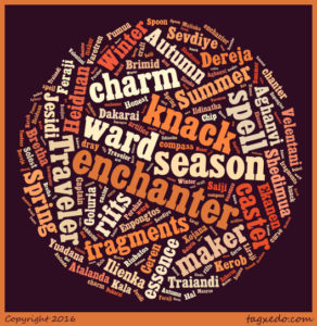 Season Series Word Cloud