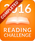 2016 reading challenge completed