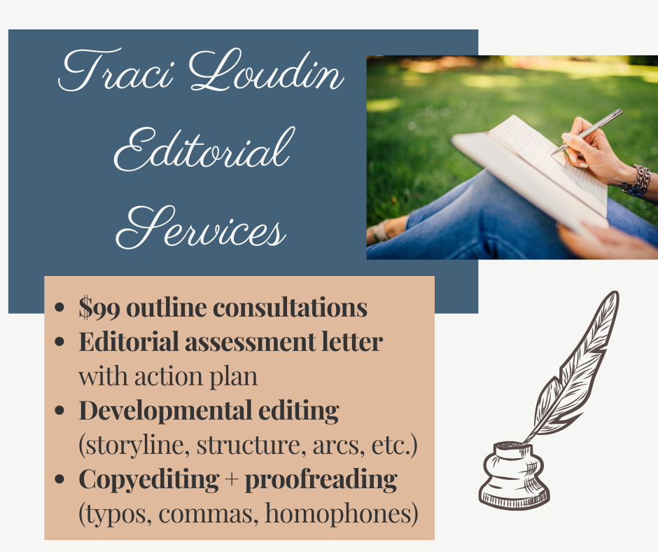 Traci Loudin Editorial Services banner
